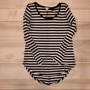 Abound Striped Long Sleeve Shirt